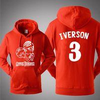 allen iverson clothing - Allen Iverson Jackets Sweatshirt Men Winter Hoodies Cute Casual Hoody Cloak Shawl Man Clothes Keep Warm Hip Hop Sweatshirts Streetwea