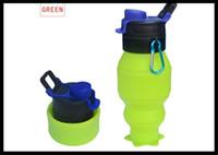 best drink bottles - foldable silicone water bottle sport bottle water cup Outdoor Portable Squeeze Sport Drink Bottle best seller dhl free