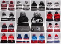 Wholesale Baseball Beanies Los Angeles Kings Montreal Canadiens New Jersey Devils New York Rangers Mixed Sale