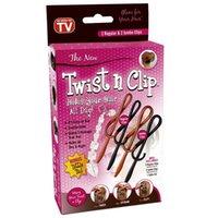 Wholesale Multifunctional Magic Hair clip stick Twist n clip fashion Simple Hair Accessories Salon Barrette Hairpin Claw Hairwear HeadWear