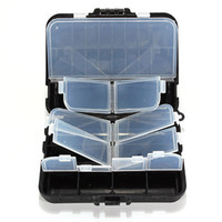 Other bead spinner - Fishing Tackle Bait Box Carp Course Hook Beads Swivels Spinner Lure Case Storage