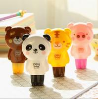 Wholesale Cartoon Animals Correction Tape Kawaii Material Escolar Korean Stationery School Supplies Papelaria