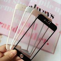 Vidrio templado de alta calidad colorido para el iphone 7
