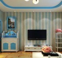 Wholesale 0 X5M FASHION nonwovens wall sticker for living room home decorative wall sticker european wallpaper designs
