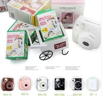 best mini cameras - Best price High quality Instax White Film Intax For Mini S s Polaroid Instant Camera