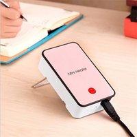 Precio de Air heater-Mini calentador de escritorio portátil Oficina de cuello blanco gens escritorio mini calentador Caliente manos ventilador de aire caliente con caja al por menor
