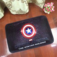 Wholesale Captain America tide brand cartoon Children carpet living room coffee table bedroom carpet entrance mats custom bed