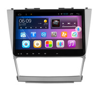 levin big antennas - 10 quot Android system big screen Quad core din Car DVD player GPS radio for Toyota Camry