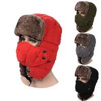 Wholesale 2016korean edition of earmuffs cap andmasks hat fashion to winter peach skin warm hatoutdoor cycling warm hat