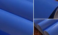 Wholesale LEFU width120cmBead Light Deep Blue paper Decorative Film PVC Selfadhesive Wallpaper stickers Kitchen Cabinet Waterproof Furniture per meter
