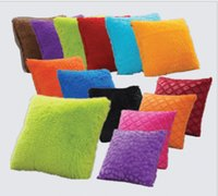 Wholesale Pure Color Pillow Cases Simple Pillow Covers Colorful Pillowcase Office Cushion Cover Car Sofa Throw Pillow Case Home Décor cm KKA1288