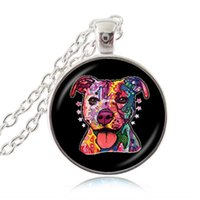 animal rescue gifts - Pitbull American Staffordshire Terrier Necklace Pit Bull Dog Rescue Pendant Fashion Jewelry Accessories for Puppy Lover