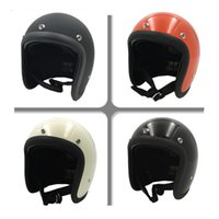 bell helmets motorcycle - Vcoros Brand for TT CO Thompson Open Face Motorcycle Helmet Vintage Motorbike Helmet Chopper Style Retro Helmets for bell helmet