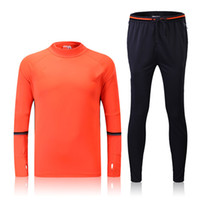 bay clothing - _ soccer tracksuit BAY top AAA quality long sleeve Training suit pants football training clothes sports wear mens Sweater