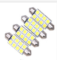 41mm License Plate Light The high beam 8SMD 12SMD 16SMDD 31mm 36mm 39mm 41mm Car Festoon Dome Reading Map Door Lamp Car Interior LED Light Bulbs