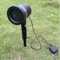 Wholesale Outdoor Lawn Light Sky Star Laser Spotlight Light Shower Landscape Park Garden Lights Christmas Garden Party Decorations free DHL
