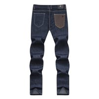 angelo lighting - Angelo Galasso man straight jeans new fashion cotton comfortable business casual straight European