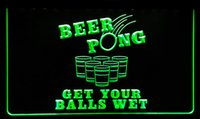 beer pong party - LS112 g Beer Pong Get Your Balls Wet Neon Light Sign jpg