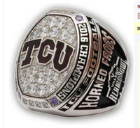 Wholesale 2016 TCU Horned Frogs Alamo Bowl Football National Championship Ring gift for men