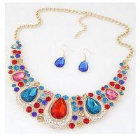 adjustable gold chain necklace - New Europe Fashion Hot Women Necklaces adjustable diamond hyperbole Necklaces