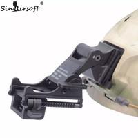 al por mayor gafas de visión nocturna montajes-SINAIRSOFT NVG Montaje del brazo MICH M88 FAST Casco KIT DE MONTAJE Airsoft Tactical Ejército Night Vision Goggle Para Casco Accesorios Rhino NVG PVS-7