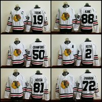 Wholesale 2017 Winter Classic Jerseys Chicago Blackhawks Patrick Kane Jonathan Toews Duncan Keith Artemi Panarin White Jersey