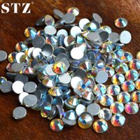 Wholesale STZ pack SS3 SS4 SS5 SS6 SS8 SS10 AB Glitter Rhinestones for Nails Tips d Glitter Flatback Decorations Nail Tools NRS02