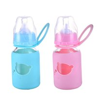animal sippy cup - Toddler Infant Newborn Baby Kids Glass Cup Handle Children Learn Drinking Straw Bottle Sippy Cup ml