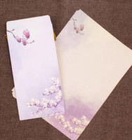 ancient chinese writing - Chinese wind A4 paper envelope set of deck ink big style restoring ancient ways stationery love letter writing paper romantic couples