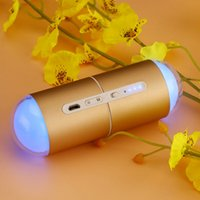 Wholesale Protable Capsule Rechargeable USB Modes Control Third Gear Winter Hand Warmer Power Bank mah LED Night Light