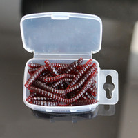 beach worms - 2016 Hot selling Smell red Beach Worm Fishing lures cm Soft Bait Carp Fishing Lure Set Artificial Fishing Worm Tackle