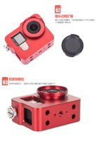 aviation case - 2017 Hot Selling Products High Precision Aviation Aluminum Alloy Camera Case Go pro Housing Case with Rear for Go Pro Camera