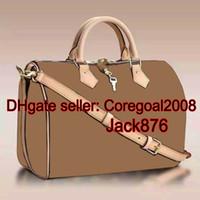 Wholesale Top original quality L boston SPEEDY BANDOULIERE M41112 M41113 M41111 N41373 womens handbag tote shoulder bag Cross Body Satchel