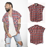 Wholesale new street fashion harajuku men kpop hipster kanye west justin bieber FOG brand urban clothing metallica music mens zipper shirt
