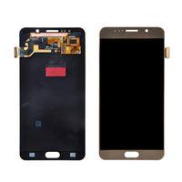 al por mayor nota reemplazo de la pantalla-Las nuevas piezas de recambio originales del digitizador de la pantalla táctil del LCD para la nota 5 N920 N920A de la galaxia de Samsung liberan el envío