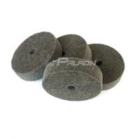 Wholesale 4 mm Grinding Machine Nylon Fibre Polishing Wheel Non woven Unitized Wheel P Metal Striping Drawing Finish