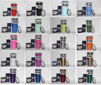Wholesale Yeti coolers Cup oz yeti mugs yeti rambler Tumbler oz Stainless Steel Tumbler Double Wall Vacuum Insulated Cup Travel Mug IN STOCK