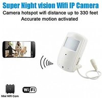 Wholesale New HD P Wireless Home Wifi Hidden Video Recorder IP Camera Security Nanny Cam Baby Monitor