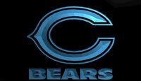 bears super bowl - LS841 b Chicago Bears Super Bowl Bar Neon Light Sign jpg