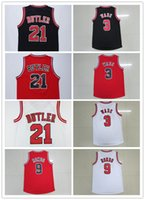 Wholesale New Men Jersey jimmy butler Stitched Dwyane wade jersey embroidery Rajon Rondo basketball jerseys
