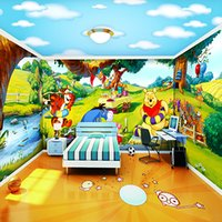 baby photos wallpapers - Large Custom d Wall Murals Wallpaper for Baby Kids Children Room D Photo Mural Tigger Mural d Cartoon Murals Fresco