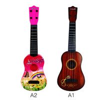 Wholesale Ukulele Acoustic Classic Guitar For Beginners Kids Musical Instruments Wood Fantasy Toys Gifts