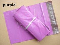 Color púrpura rosado del envío del mensajero de los bolsos de correo / envíe el bolso expreso del sobre / auto-sello