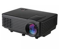 av atv - RD805 Lumens Projector Mini LED Portable Beamer Cinema Proyector VGA AV USB HDM ATV Home Theater Projector