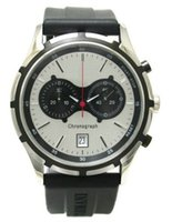 Compra Mejores relojes de moda de calidad-Reloj AR0532 AR0532 de los mejores de la calidad de la marca de fábrica del lujo de la manera del negro de goma de la correa al por mayor libre del envío con la caja original 2 años de garantía