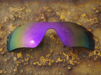 Wholesale BOTT Polarized Replacement Lenses for Radar Path Sunglasses Violet Purple UVA UVB