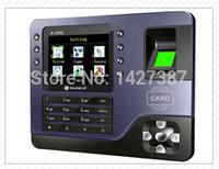 Wholesale Realand A C091 TCP IP Biometric Fingerprint Time Clock Recorder Attendance Employee Electronic English Punch Reader Machine