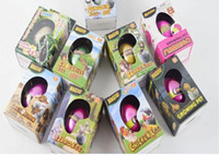 Wholesale Easter Egg dinosaur eggs Christmas gift Growing pet Hatchimals egg variety of animals eggs can hatch out animals creative toys w gift box
