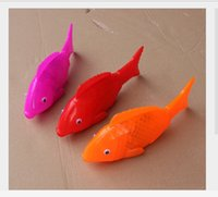 big lantern fish - Lantern fish stalls selling children s toys Universal music land fish three lights Solid color electric fish