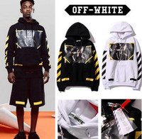 Wholesale OFF WHITE C O Hoodies Men Women sup Clothing Religious Outerwear Coats Hip Hop Skateboard PALACE VLONE Male Hooded Sweatshirts